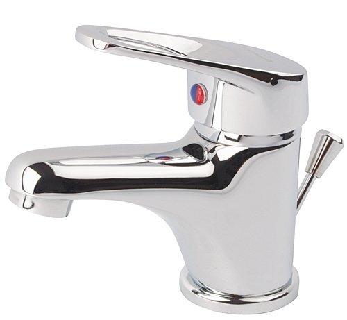 Waschtischarmatur klein für Gäste WC Handwaschbecken komplett mit Montagematerial