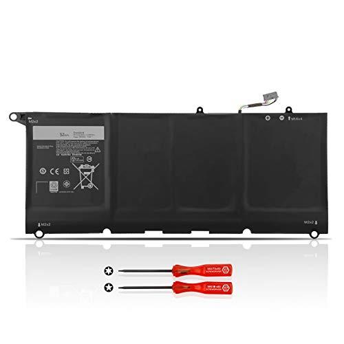 JD25G Laptop Akku für Dell XPS 13-9343 13-9350 P54G001 P54G002 Touchscreen InfinityEdge Ultrabook 13D-9343-1808T 13D-9343-1508 13D-9343-1608T 13-9350-D1508 13-9350-D1608T 0N7T6 5K9CP JHXPY 90V7W