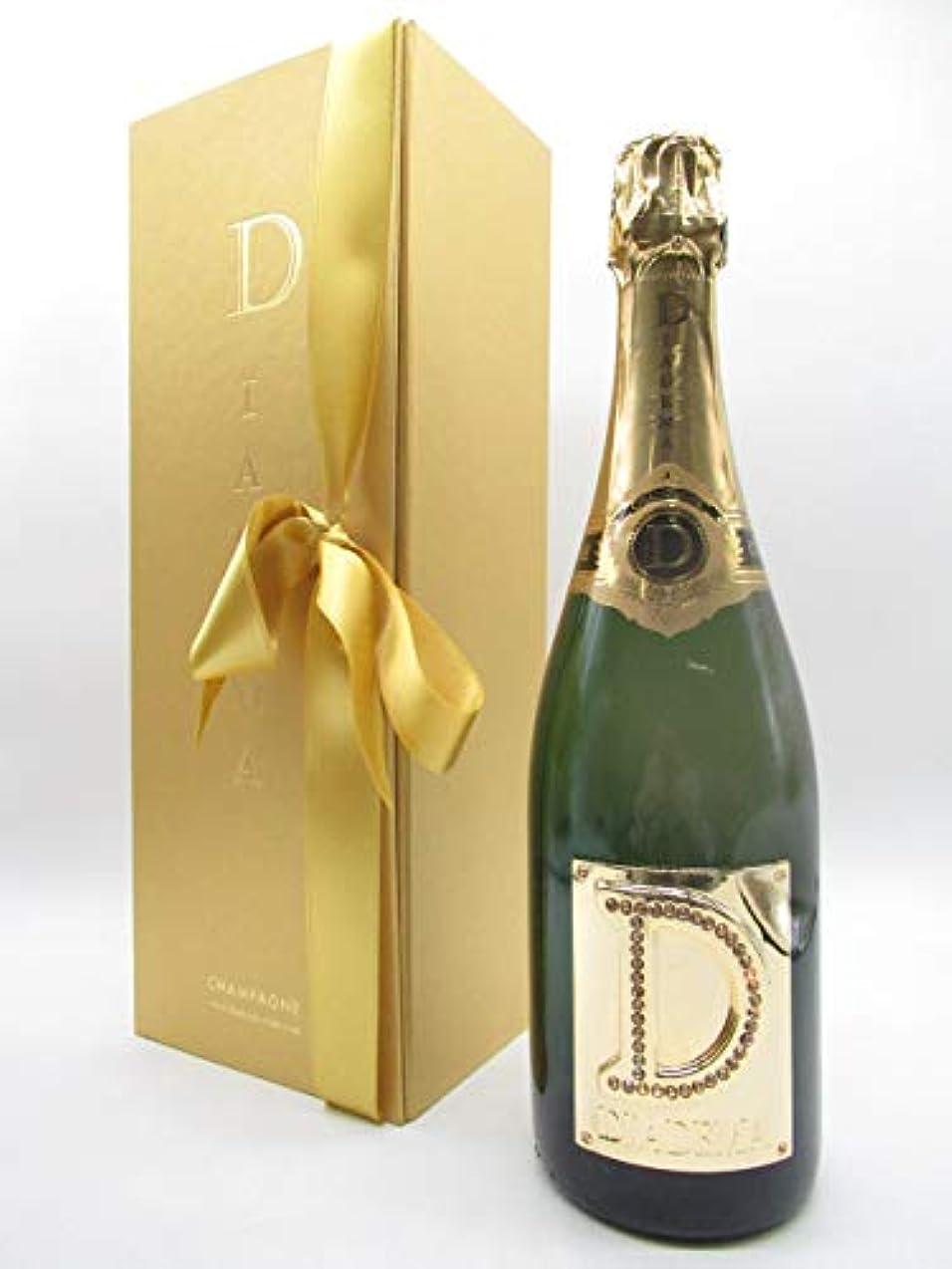 シネウィローン会議[ギフト] ディアデマ 白 箱付き 750ml ■スワロフスキーをまとったシャンパーニュ
