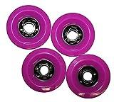 Koston Profi Blank Longboard Wheels Lila 97x52mm / 78A - Rollen...