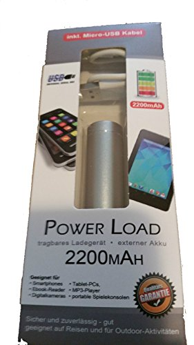 Power Load, tragbares Ladegerät, externer Akku, 2200MAH