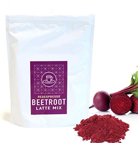 Beetroot Ginger Superfood Latte Mix - Red Espresso - Vegan, Organic, Kosher, Immunity Support (500g)
