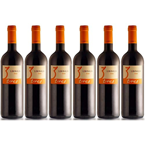 Liberalia Vino Tinto - 6 Botellas - 4500 ml