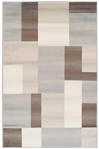 Superior Elegant Clifton Area Rug Rectangular TileModern Pattern, 9' X 12', Multi-Colored