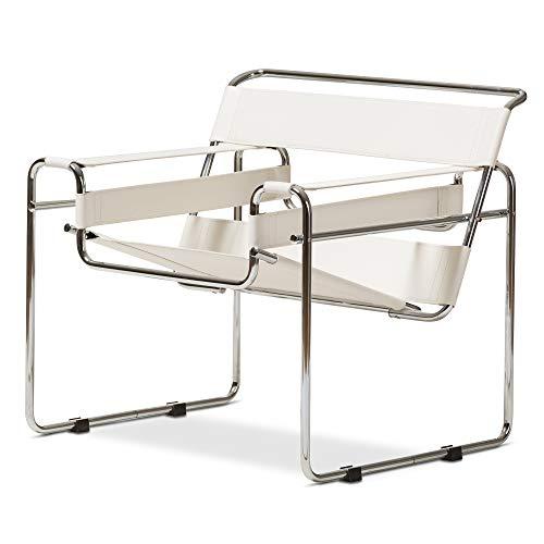 Baxton Studio ALC-3001 White Directors-Chairs