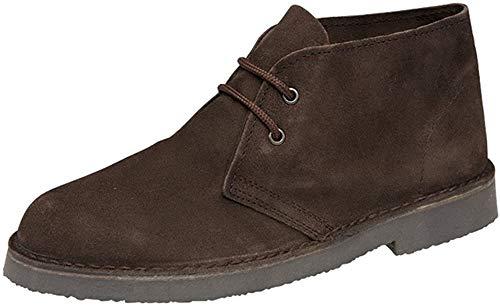 Mens Classic Brown Suede Desert Boots UK 12