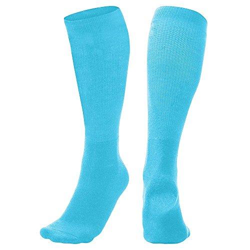 Multi-Sport Socks, Light Blue, Small