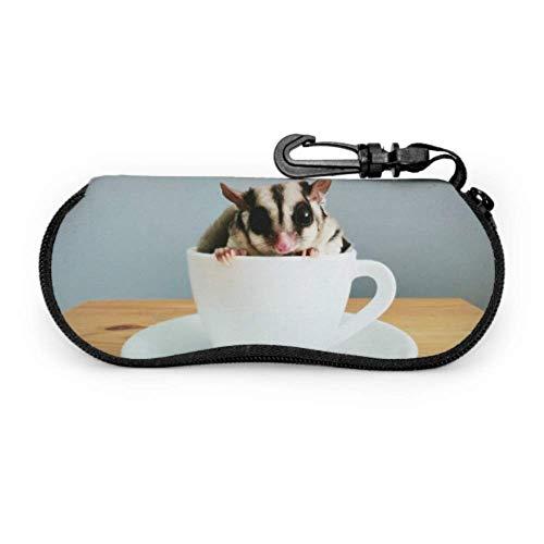 Preciosa ardilla interior de la copa de gafas fundas de protección de gafas funda protectora para gafas