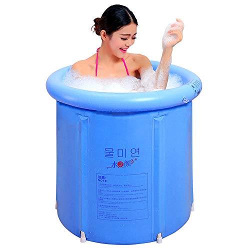 Bañera inflable más gruesa plástico jacuzzi spa bañera plegable hinchables para piscina adultos Adultos piscinas piscinas Versión mejorada Bañera plegable Bañera 70X70cm Bañera Bañera