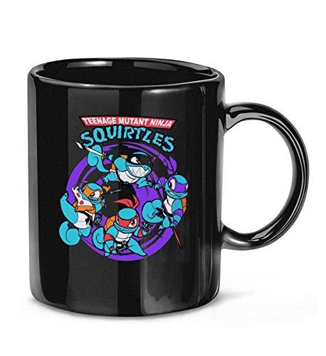 N\A Teenage Mutant Ninja Squirtles Taza de café para Mujeres y Hombres Tazas de té