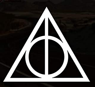 Always Deathly Hallows Vinyl Decal Sticker//Laptop//Car//Tablet//Bumper//Harry Potter