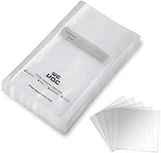 Wevac Vacuum Sealer Bags 100 Quart 8x12 Inch for Food Saver, Seal a Meal, Weston. Commercial Grade, BPA Free, Heavy Duty, Puncture Prevention, Great for vac storage, Meal Prep or Sous Videion, Great for Meal Prep or Sous Vide