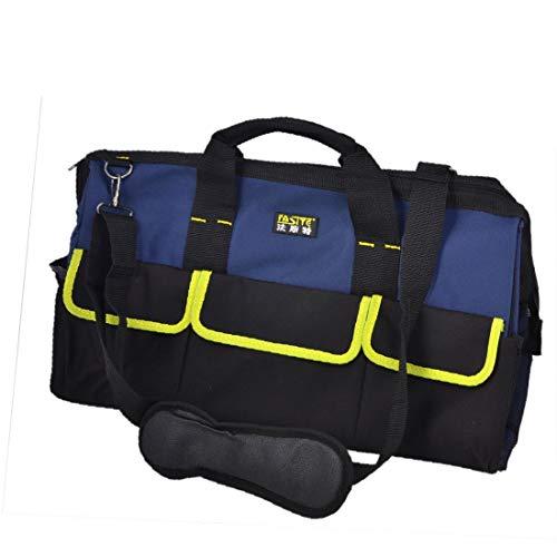 X-DREE Bolso de mano con cremallera azul nylon nylon alicates martillo portaherramientas (e171a890d402f99509f97cf073ff2ec2)