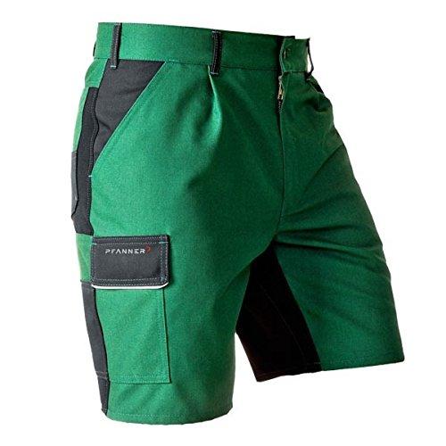 Pfanner Funktions Shorts mit Stretchgewebe, Größe:50, Farbe:grün/schwarz
