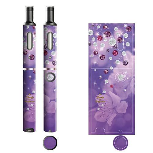電子たばこ タバコ 煙草 喫煙具 専用スキンシール 対応機種 プルームテックプラスシール Ploom Tech Plus シール Lovely & Gorgeous 02カラーダイヤ 22-pt08-ca0321