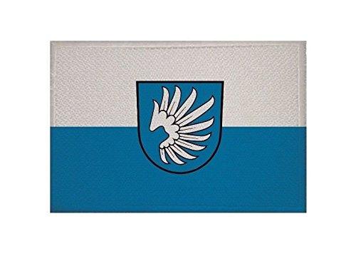 U24 Aufnäher Lichtenstein (Württemberg) Fahne Flagge Aufbügler Patch 9 x 6 cm