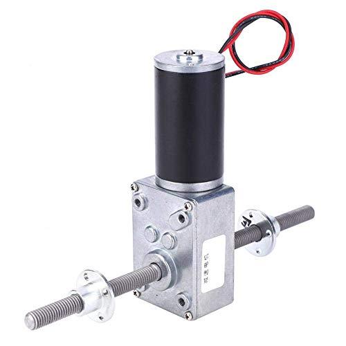 ShiSyan Worm Gear Motor eléctrico, Handed-Derecho de Doble Rosca del Eje coaxial M8 reducción de la Velocidad del Motor 2345 con Brida Motor