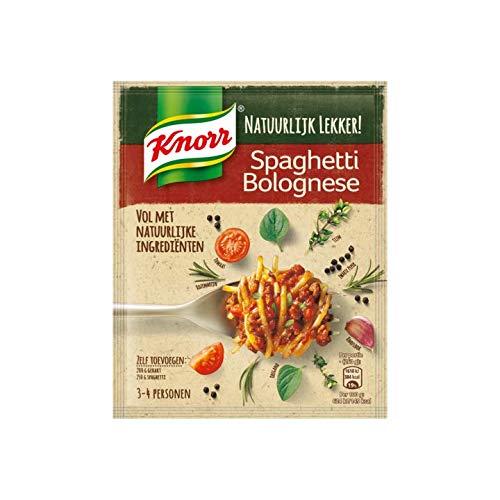 Bolognese Spicemix | Knorr | Natürlich lecker mischen! Spaghetti Bolognese | Gesamtgewicht 43 Gramm