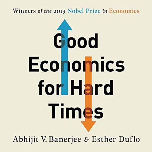 『Good Economics for Hard Times』のカバーアート