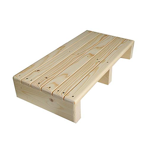 Best Review Of Wagsuyun Kid Piano Pedal Extender Bench Piano Pedal Extender Solid Wood Non-Slip Peda...