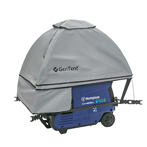 GenTent Generator Running Cover - Inverter Kit (Standard, Grey) - for Fully Encased Inverter Generators