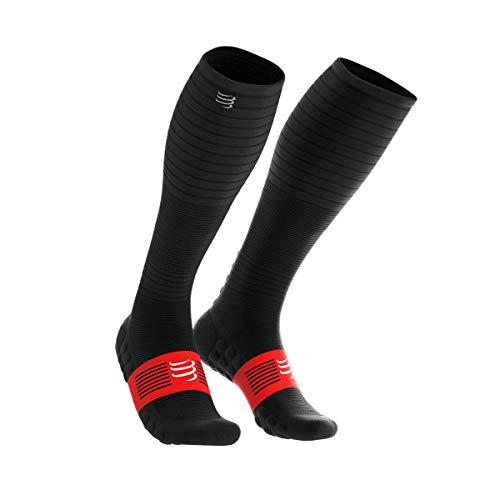 COMPRESSPORT Socken Calcetines Oxygen, Hombre, Negro, T4