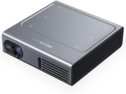 Dragon Touch Z1 Mini Projector 150 ANSI Lumen 1080P Supported DLP Portable Projector with Android product image