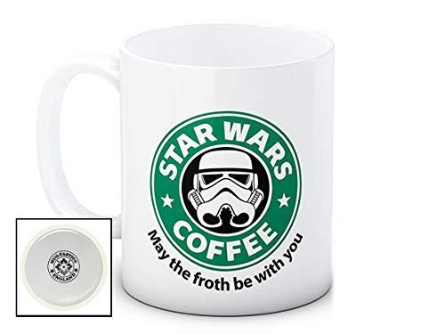 mug-tastic Star Wars - Storm Trooper - May The Froth Be with You - Hochwertige Kaffeetasse