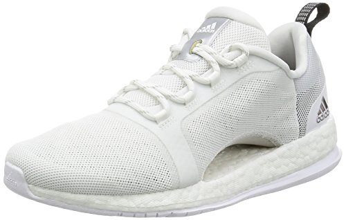 adidas Damen Pure Boost X Tr 2 Fitnessschuhe, Weiß (Ftwbla/Plamet/Negbas 000), 42 2/3 EU