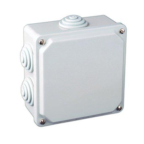 Caja eléctrica de superficie cuadrada 100x100x50mm