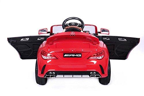 RC Auto kaufen Kinderauto Bild 3: Mercedes CLA 45 AMG Elektroauto Kinderelektroauto Elektrofahrzeug. Farbe: Rot*