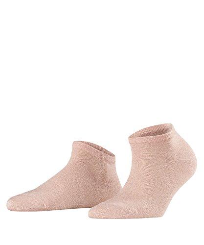 FALKE Damen Sneakersocken Shiny - Viskosemischung, 1 Paar, Rosa (Blossom 8645), Größe: 35-38