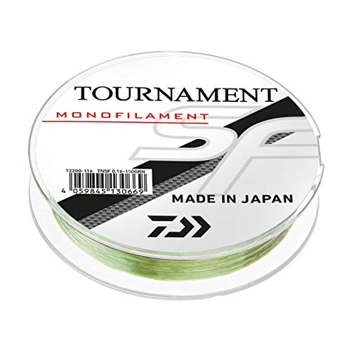 Daiwa Tournament SF Line 0,23mm 300m Grün-Transparent monofile Angelschnur