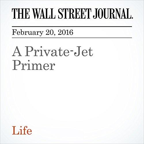A Private-Jet Primer audiobook cover art