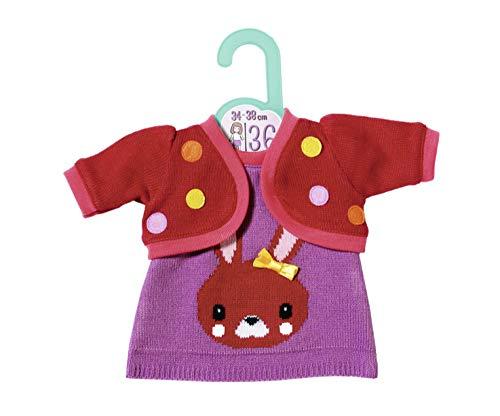 Zapf Creation 870600 Dolly Moda Strickkleid mit Jacke Puppenkleidung 34-38 cm