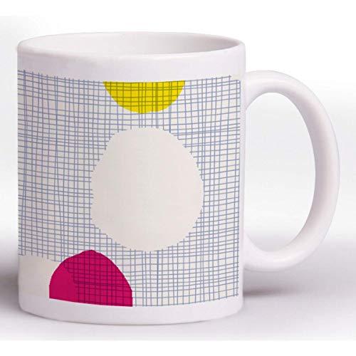 Clairefontaine 83475C - Taza de cerámica Zephir 8 x 9,5 cm, diseño aleatorio