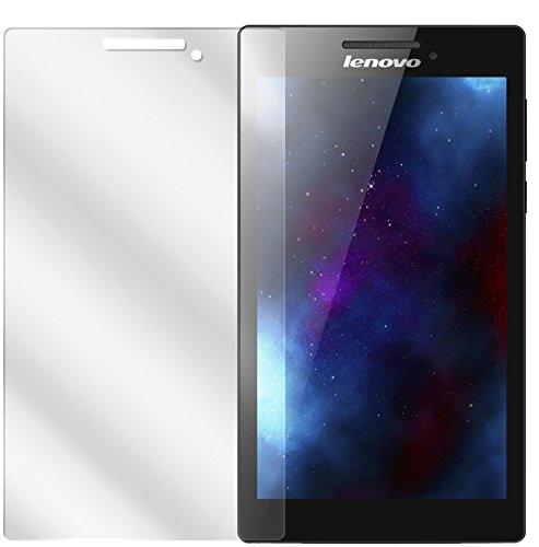 dipos I 2X Schutzfolie klar kompatibel mit Lenovo Tab 2 A7-10 Folie Bildschirmschutzfolie
