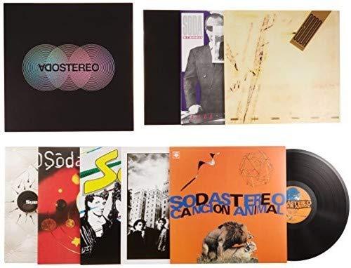 caja vinilos de la marca Sony Music