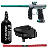 Action Village Empire Mini GS Core Paintball Gun Package Kit (Dust Grey/Dust Teal)