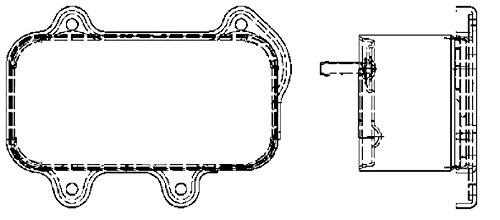 Preisvergleich Produktbild BEHR HELLA SERVICE 8MO 376 726-111 *** PREMIUM LINE *** Ölkühler,  Motoröl