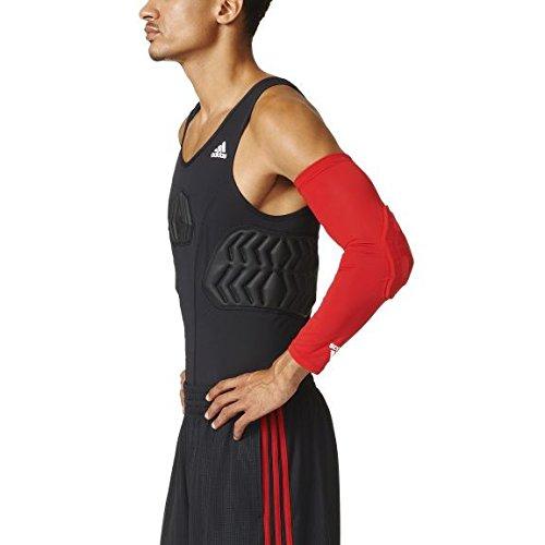 adidas Armband Padded Protector de Brazos, Hombre, Rojo-Red-SLD, XXXL