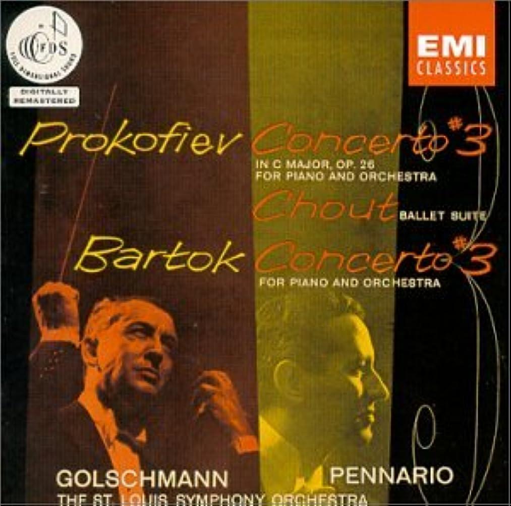 Prokofiev: Piano Concerto No. 3 in C Major, Op. 26 & Chout Ballet Suite; Bartok: Concerto for Piano No. 3