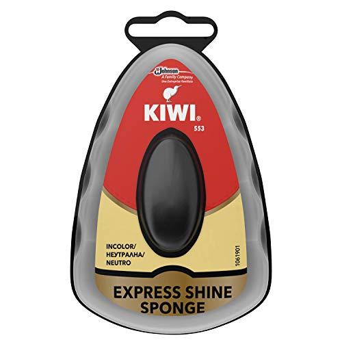 Kiwi Spugna Autolucidante per la Pulizia delle Scarpe, Protezione Immediata, Confezione da 1 x 50 g, Neutra