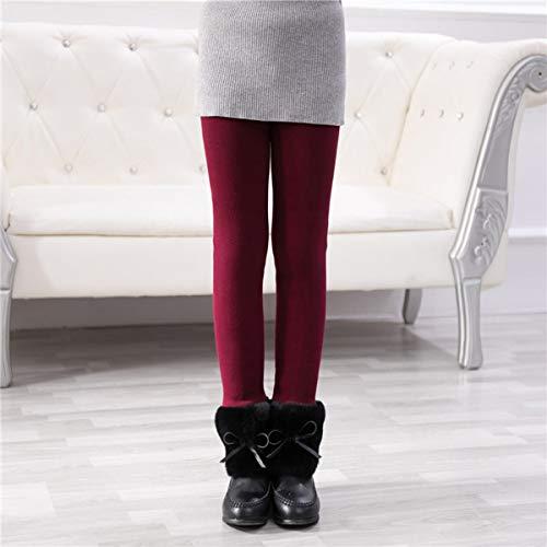 BigBig Style Legging Elastische Verdikte Winter Warm Broek voor Kinderen, 1 st