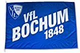 VFL Bochum 1848 Hissfahne Fahne Flagge - 150x100cm - Original Lizenzprodukt