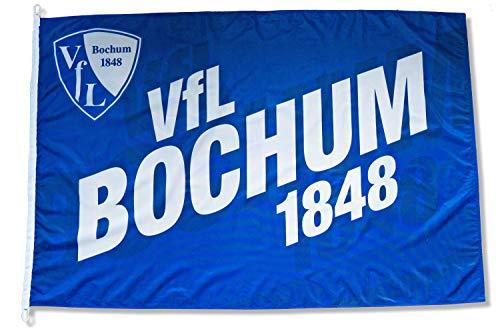 VFL Bochum 1848 Hissfahne Fahne Flagge - 120x180cm - Original Lizenzprodukt