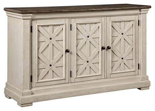 Signature Design by Ashley Bolanburg Dining Room Server, Two-tone