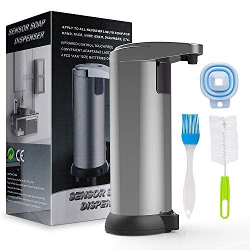 VESSTT Sensor Soap Dispenser Automatic for bathroom,...