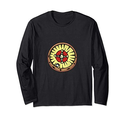 Roulette-Rad Langarmshirt