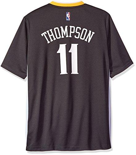 NBA Golden State Warriors Klay Thompson #11 Men's Replica Jersey, Medium, Black (3HW)